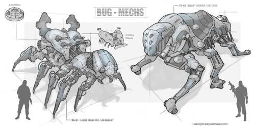 Bug Mechs by Narandel