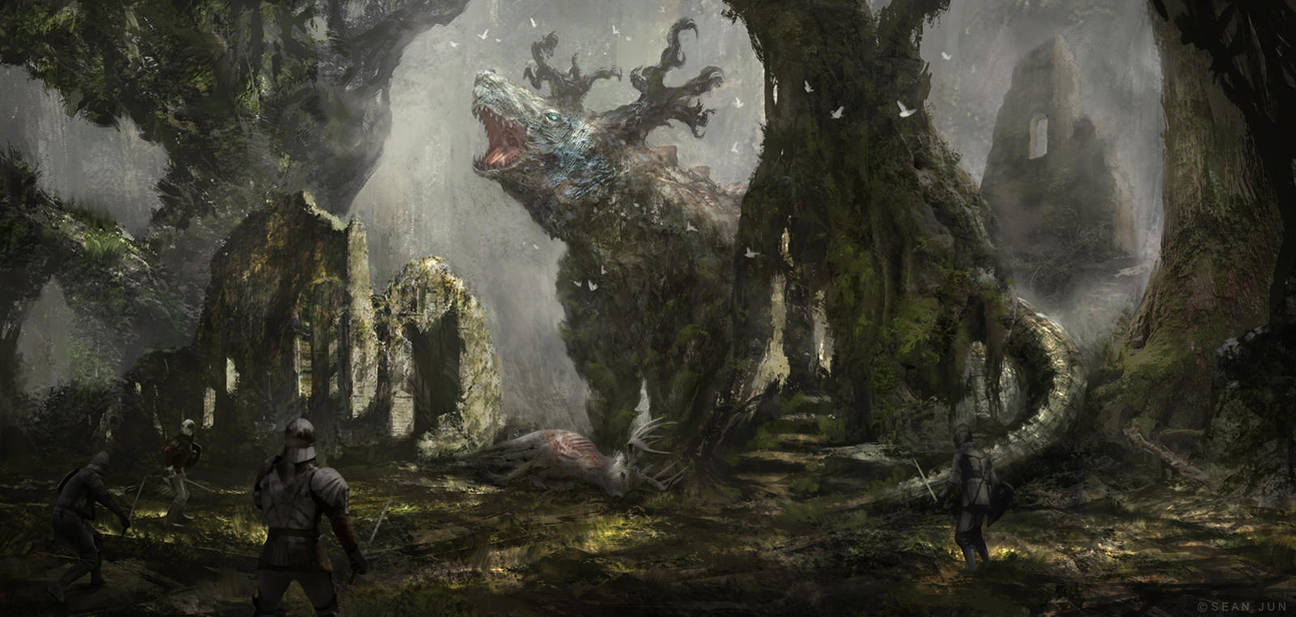 Forest Guardian by Narandel
