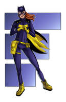 Batgirl by halwilliams