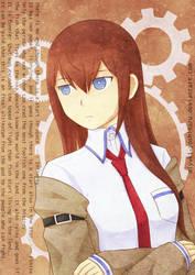 Steins Gate - Makise Kurisu by miyuki-yoshiharu