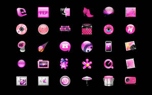 Pink icons collection by Pinkie75