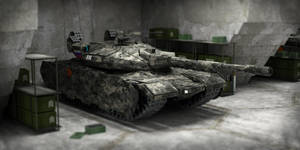 T-120M Main battle Tank by spartani2