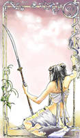 Akkren's Naginata by Amakudari