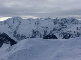 cold mountains II by mimose-stock