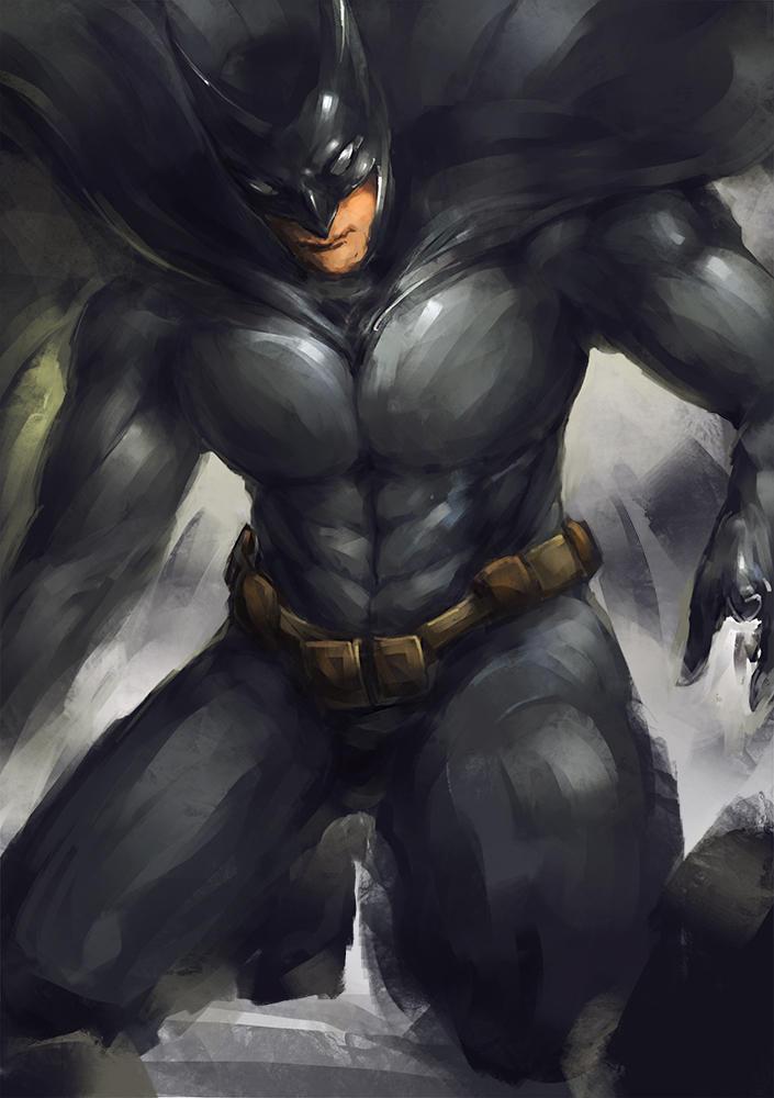 batman by benevolencer