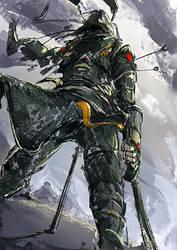 1h - Samurai  - start a war by benevolencer