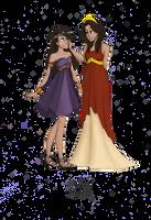 Greek Goddesses: Demeter and Persephone by JadeAriel