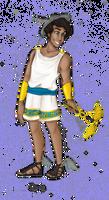 Greek God: Hermes by JadeAriel