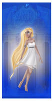 Greek Goddess - Pandia PRINT by JadeAriel