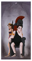 Greek Gods and Goddesses - Hades and Pers PRINT by JadeAriel
