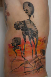 Dali Wars in progress by graynd