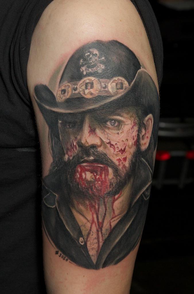 Zombie Lemmy By Graynd On Deviantart