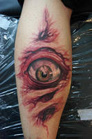 eyebal tattoo by graynd