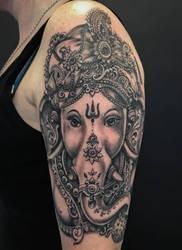 Ganesha by graynd