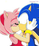 Kiss You Luck, Sonic by Aamypink