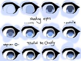 how I shade eyes by Chociily