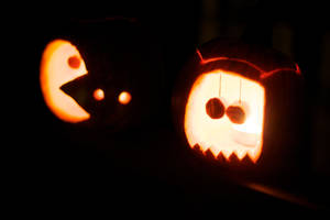 Pac-o-lantern by mhalpert