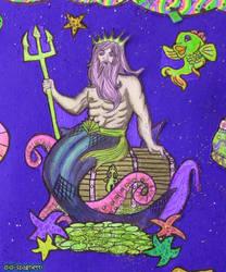Poseidon by didi-spaghetti