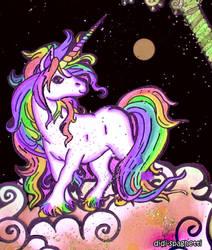 Rainbow Unicorn by didi-spaghetti