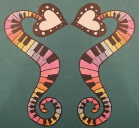 musical seahorse by didi-spaghetti