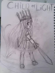 sketch :  fanart child of light by sirisse