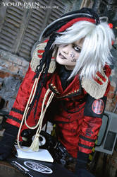 cosplay - eccentric agent (Vo. Ikuma) by Your-Pain