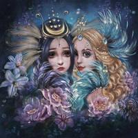 Birds of Joy and Sorrow by DolceCaramella
