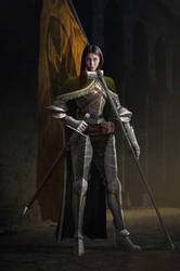 Lady Knight by AndisReinbergs