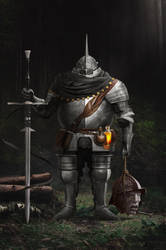 Fat Knight by AndisReinbergs
