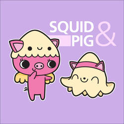 CONTEST: Squid and Pig by XintuStore