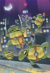 Teenage Mutant Ninja Turtles by Dinolad