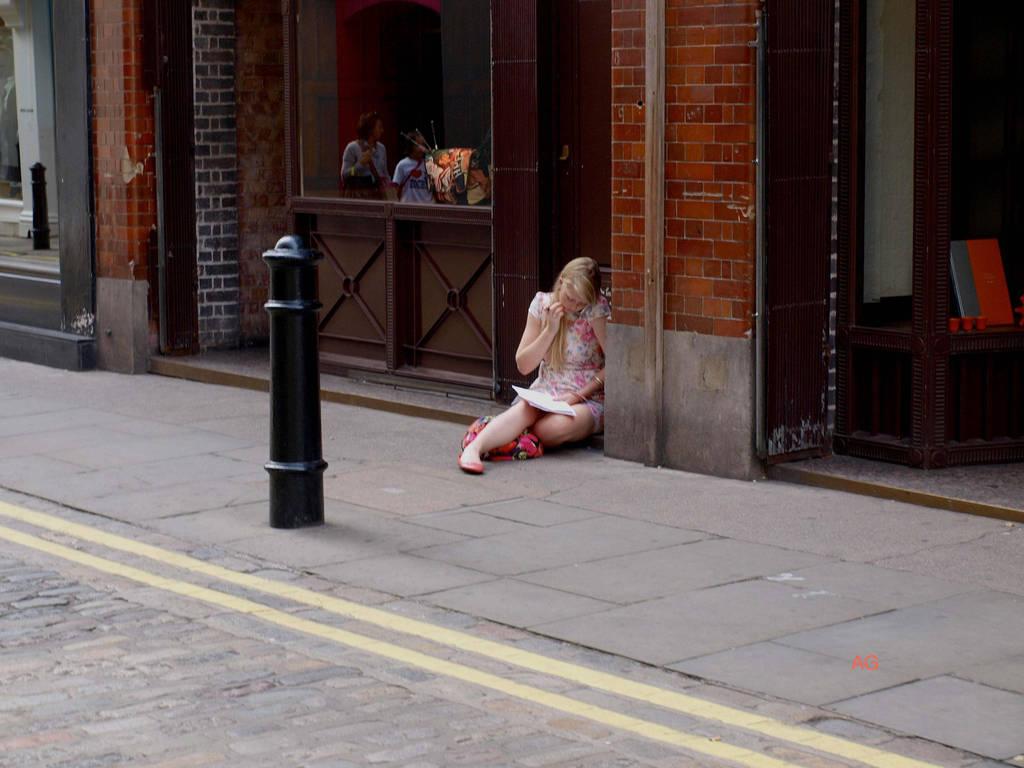 London street scene 7545 by Usmanskiy