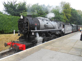 KWVR: 5820 at Oxenhope by BoomSonic514