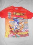 Sonic Comic No. 3 T-shirt by BoomSonic514