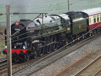 70000 at Farington Junction by BoomSonic514