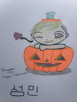 Sungmin Halloween by Orchid-Bud