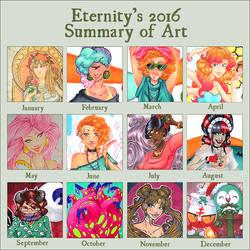 2016 Summary of Art by EternityEmporium