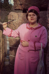 Strange grounds (HP: Dolores Umbridge) by KvartsiCosplay