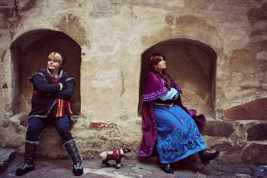 Fairytale... Just not Today (Frozen) by KvartsiCosplay