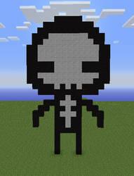 Minecraft - Doom Sprite - Dooder by BoundingFromEarth