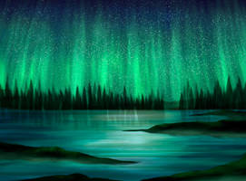 Aurora Borealis by ScarletWarmth