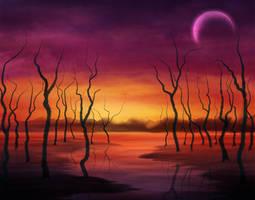 Crimson Stream by ScarletWarmth