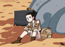 Star Wars- Rey by Demonology7789