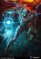 Energy Trooper 1 by Koryface