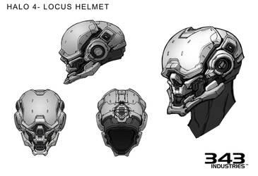 Halo 4 Locus Helmet by Koryface