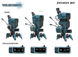 Wildstar Artillery Bot by Koryface
