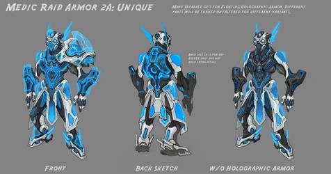 Wildstar Medic Raid Armor by Koryface