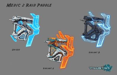 Wildstar Medic Raid Shock Paddles by Koryface