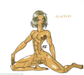 Alacrity -nude pose- by hydek