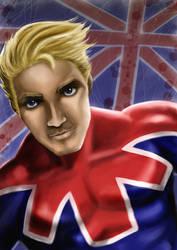 Captain Britain - Painter IX by thejavas